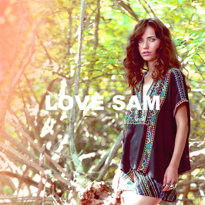 Love Sam Site Launch Feature