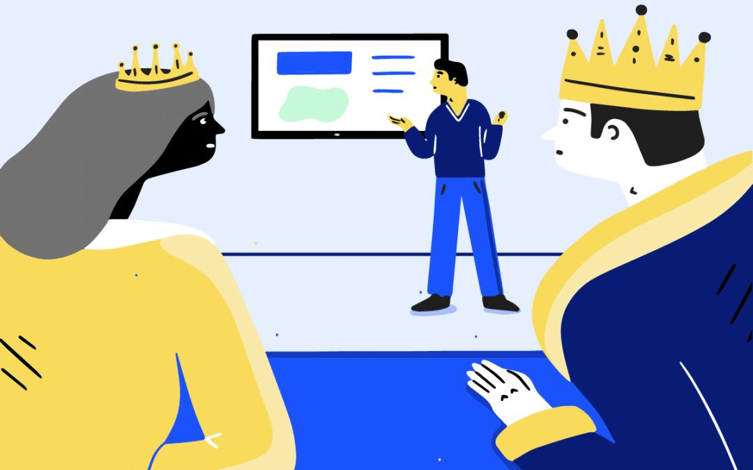 Project Management – Meaningful Executive C-Suite Presentation Deck
