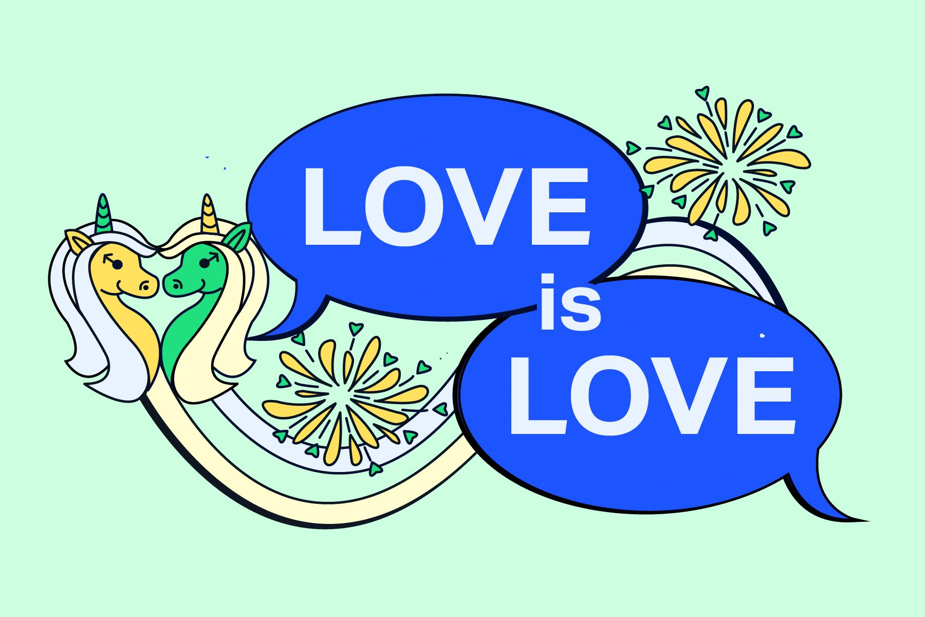 Love Is Love ZAMARTZ Pride 2021